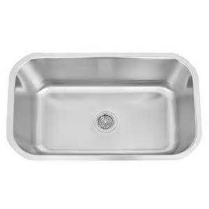Kitchen Undermount Sink 30 Quot Infinite Oblong Stainless Steel Undermount Sink Kitchen