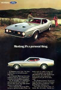 Ford Ads Ford Magazine Ads From 1970s