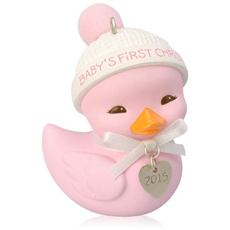 2015 baby girl s first christmas hallmark keepsake