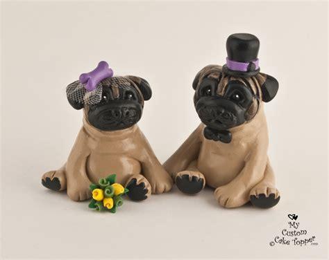 pug due date calculator pug wedding cake toppers