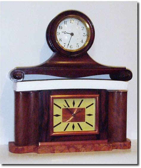country or unknown shelf antique clock