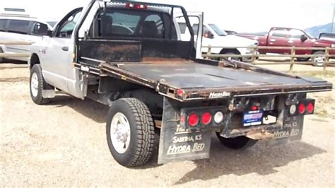 hydra bed d1638b 2008 dodge manual hydra bed feed truck youtube