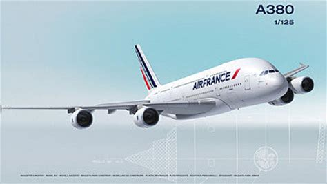 commercial plastic model airplanes a380 air france commercial airliner plastic model airplane