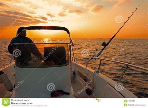 modern fishing boat images modern fishing boat at sunrise stock image image 27981781