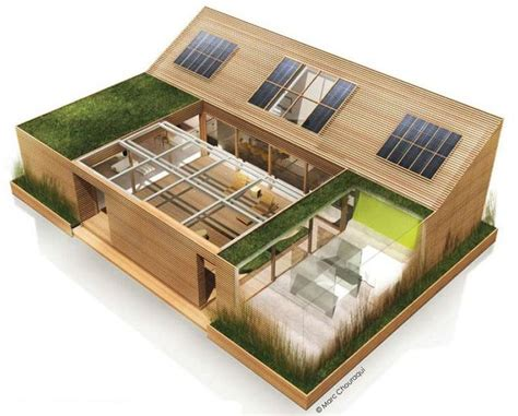 Plan De Maison Avec Patio Central by Maison Avec Patio Central Plan Maison Terrasse