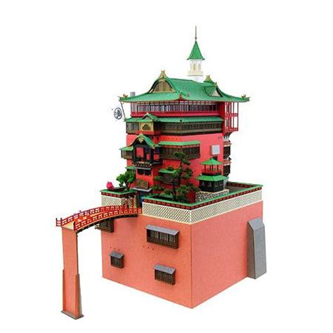 Ghibli Papercraft - miniatuart kit studio ghibli series spirited away yuya