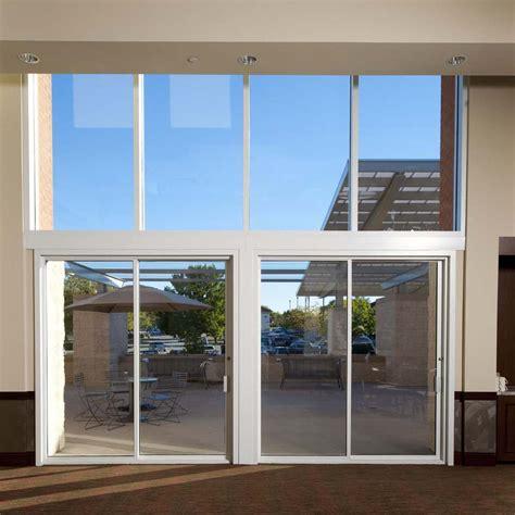 Aama Sliding Glass Door Product Catalog Commercial Sliding Door Systems Aluminum Exterior 990 Sliding Pocket Doors