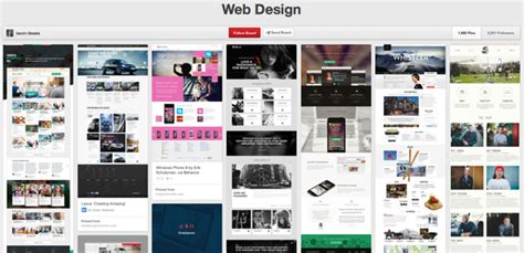pinterest layout website 10 brilliant graphic and web design pinterest boards