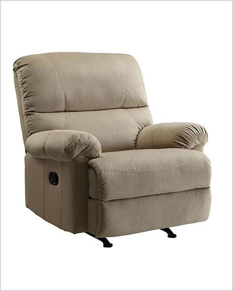 easton leather rocker recliner pri easton rocker recliner in beige pr ds 1098 007 082