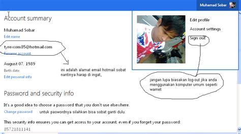 membuat email hotmail cara daftar akun hotmail afapps