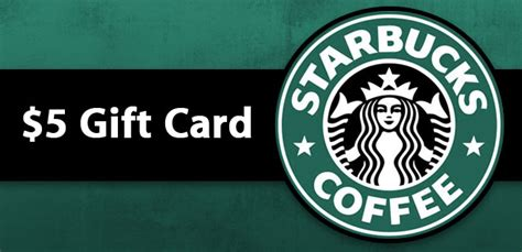 Starbucks Gifts Card - free 5 starbucks gift card hurry