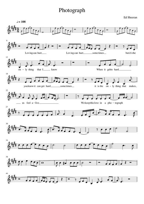 ed sheeran perfect violin photograph ed sheeran musescore sheet music to play