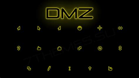 cursor themes for windows 8 1 dmz neon cursor pack 4 colors