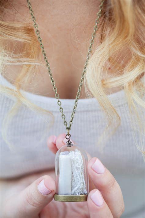 wedding dress keepsake make your own wedding dress keepsake necklace