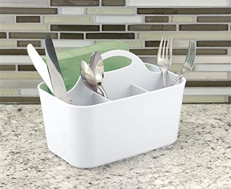 Countertop Utensil Organizer by Mdesign Silverware Flatware Caddy Organizer For Kitchen Countertop Storage Dining Table