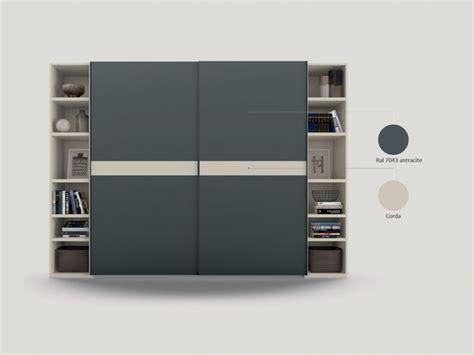 armadi librerie armadio scorrevole con librerie terminali zg mobili