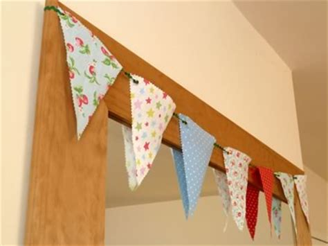 How To Make Paper Bunting Banners - decorative bunting easy no sew fabric banner bunting