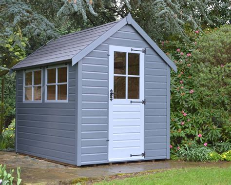 Painted Garden Sheds by Elite Garden Buildings And Spas Ltd Brambridge Park Garden