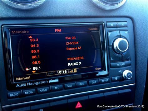 Audi Concert 3 by Diy Concert 3 To Rns E Retrofit 2012 Audi A3 Audi