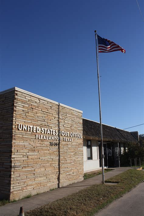Pleasanton Post Office by Faithful Readers Ranch Gates Bar B Q Rv There Yet