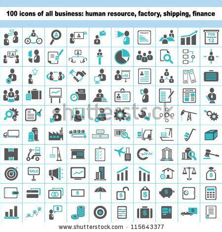 Set Of Business Icons Human Resource Finance Royalty Free Stock Photos Image 33611768 12 Best Images About Logistics Icons On Ai Illustrator Trucks And Icons