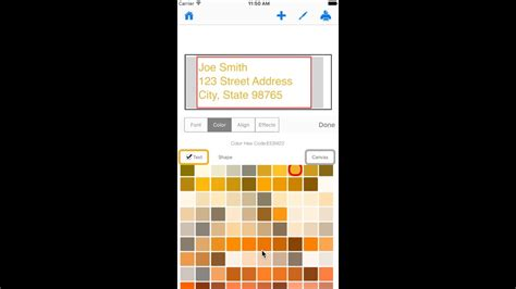 iphone text colors create labels on iphone how to change text color
