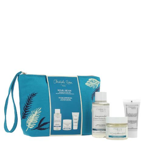 Detox Travel by Christophe Robin Detox Hair Ritual Travel Kit Hq Hair