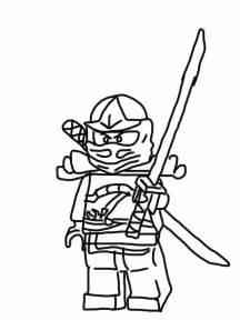 kai ninja red zx colouring pages