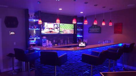 home bar led lights led lighting tech homesolutions
