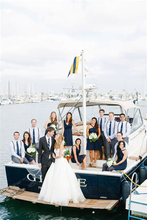 Wedding On A Boat by Chic Transportation Inspiration For Your Wedding Inside