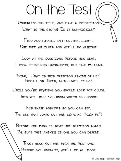 printable stress quiz for college students preparing for standardized testing stress free strategies