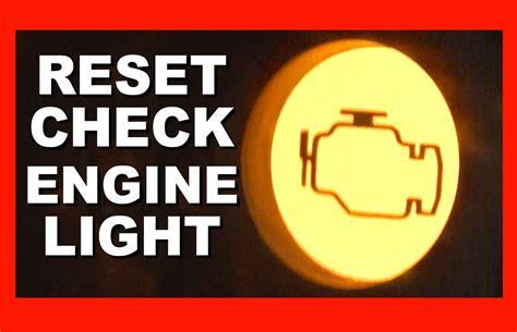 Reset Check Engine Light To Pass Inspection Www