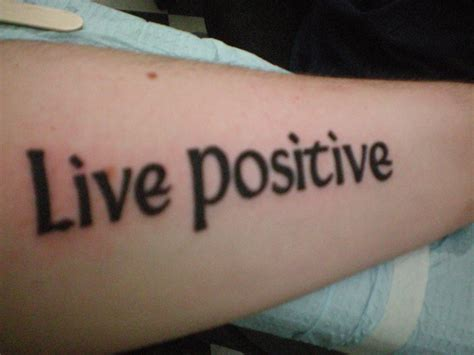 positive tattoo by xsxeotakux on deviantart