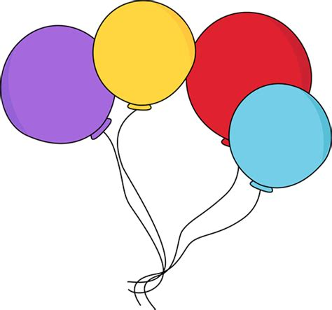 clipart ballo colorful balloon clip colorful balloon image