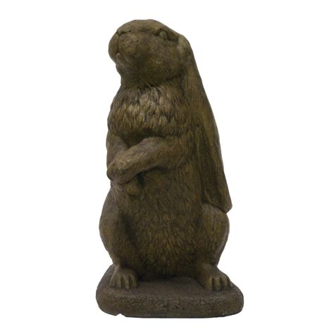 Bronze Animal Statues Shop 14 In Animal Garden Statue At Lowes