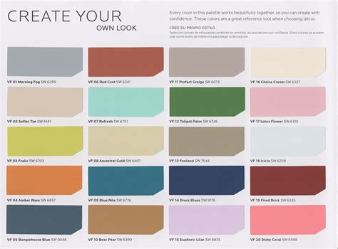 paint colours new vintage paint color collection from sherwin williams