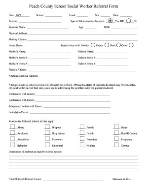 what is a section 37 report social services blank referral form template gse bookbinder co