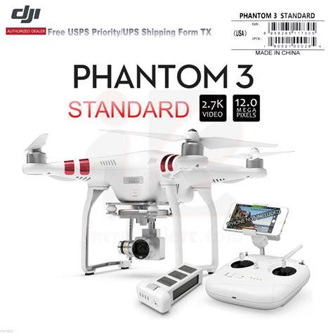 Drone Dji Phantom 3 Standard W 2 7k Hd 3 Axis Gimbal Keren dji phantom 3 standard rc drone w 2 7k 12 megapixel hd and 3 axis gimbal the s