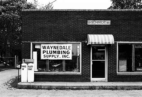 Waynedale Plumbing Supply   Photograph by Christopher Crawford