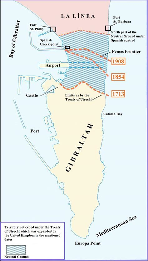 627 holy rock gibraltar the of all territorial