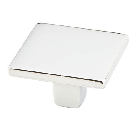 square polished chrome cabinet pulls schaub and company shop 360 26 cabinet knobs polished