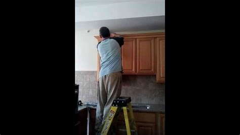 kitchen cabinets repair contractors how to repair kitchen cabinets youtube