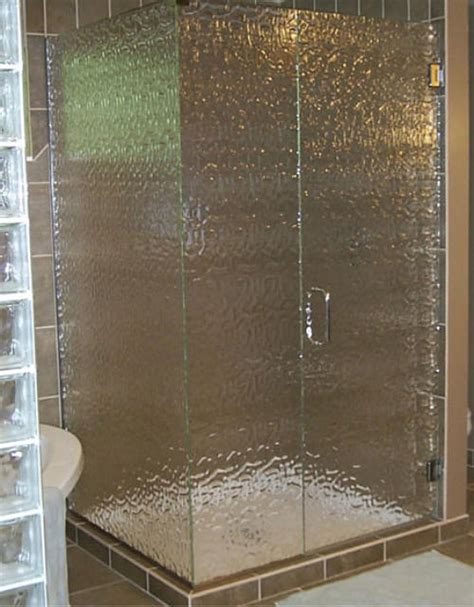 Shower Doors With Design On Glass Shower Doors By Garsison Tile