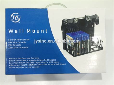 mount ps4 desk ps4 slim and ps4 pro wall mount and desk organizer buy