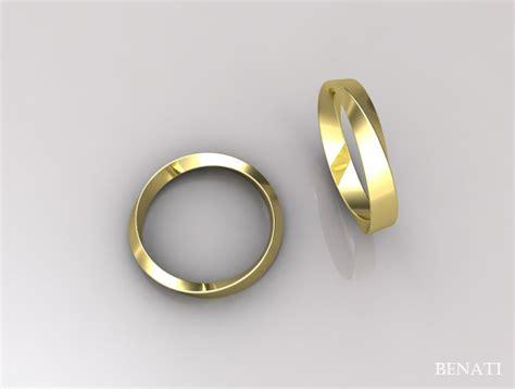 mobius wedding ring infinity wedding ring modern by benati