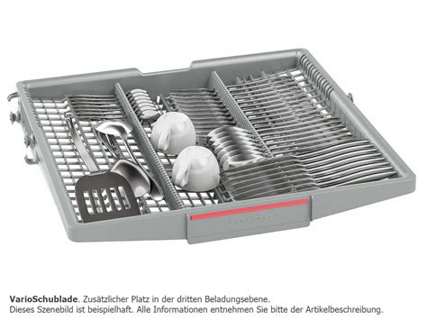 Varioschublade Siemens by Bosch Smv68m80eu Vollintegrierbarer Einbau Geschirrsp 252 Ler