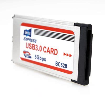 Expresscard 34mm To Usb 30 Adapter Dual Port expresscard 34mm to usb 3 0 adapter dual port import