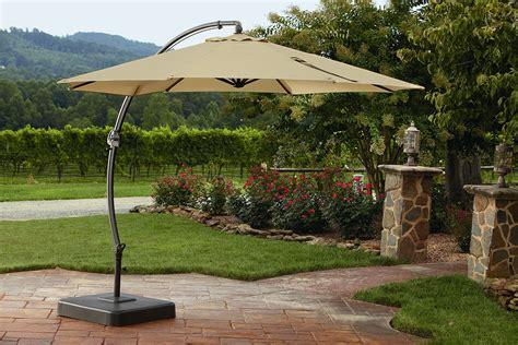 Backyard Creations 11 5 Offset Umbrella Upc 805670024239 Garden Oasis 11 5 Ft Steel