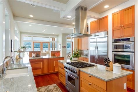 Seattle Coastal Kitchen by Springs Bainbridge Island Coastal Kitchen