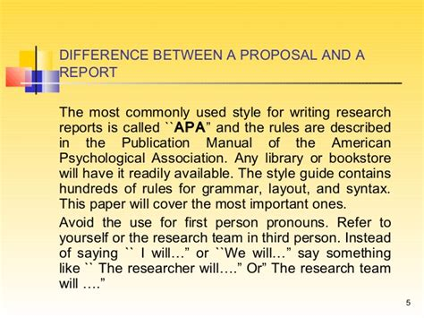 Difference Between Essay And Report Writing by Writing A Research Report